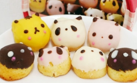 パンダやクマが色とりどりのミニドーナツに変身した「恋するクマゴロン」など新千歳空港siretoko sky sweets限定のスイーツを食べてみました