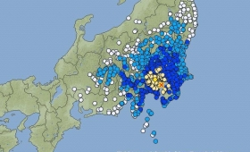 【地震】東京で震度5弱の地震!津波の影響無し