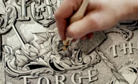 世界に12人しか存在しない、インクを使うペンで描く技術を極めた「マスター・ペンマン」とは?
