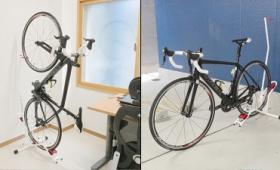 自転車をタテヨコ自在に置けるようになるミノウラの自転車スタンドを使ってみました