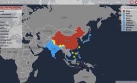 領土問題が起こっている地域が一目でわかるマップ