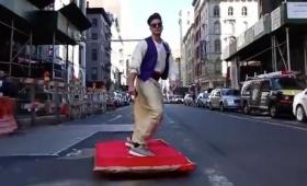 【謎技術】これは凄い!魔法の絨毯でニューヨークを飛ぶ映像が話題に