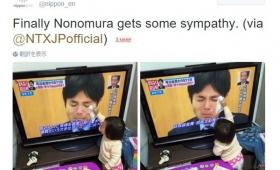 【優しすぎ】ピュア過ぎて泣いた!野々村議員の涙を拭いてくれる幼女に日本が涙!風刺画のようだ。