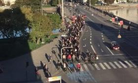 日本と何かが違う。デンマークの首都、コペンハーゲンの通勤ラッシュアワータイムの交通状況