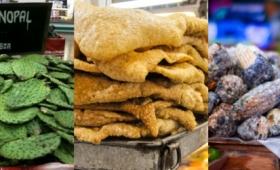 閲覧注意の領域に・・・メキシコの風変りな9の食材・料理