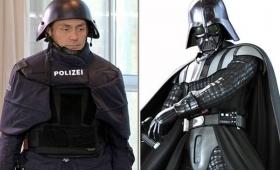 【ドイツ始まった】警官制服が完全に「ダークサイド」だと話題に