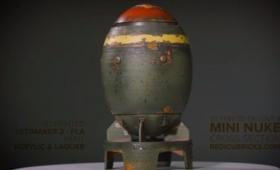 『Fallout 4』の小型核弾頭「ミニ・ニューク」を3Dプリント