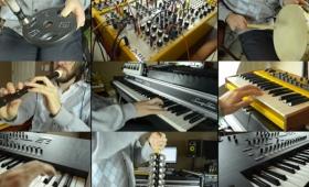 シンセサイザーや打楽器を活用したFF7「雪に閉ざされて」のカバー