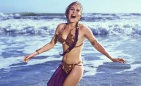 1983年のレイア姫による「ジェダイの帰還」プロモーション写真
