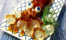 プラモデル感覚で楽しめるしうまい!「みたらしイカ」と「産ませてよ卵」のレシピ【ネトメシ】