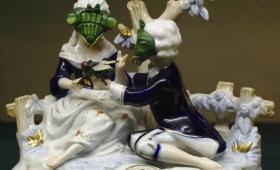 なぜ混ぜたし。カマキリ顔したアンティーク風陶器がナウオンセール
