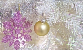 【マジかよ】クリスマスツリーの謎玉の正体は「りんご」