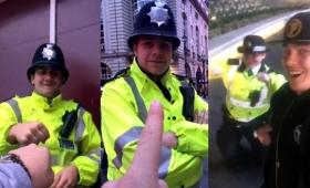 イギリスの警官はノリノリで自撮りにも対応してくれる人が多いらしい