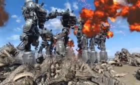『Fallout 4』のリバティプライム10体vsデスクロー1000体が壮絶
