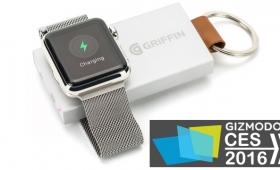 AppleWatch専用の非接触モバイルバッテリーが発表