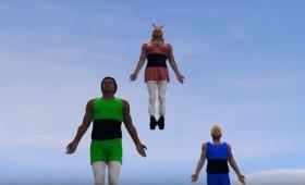 GTA Vで『パワーパフガールズ』のOPを筋肉&暴力満載に再現