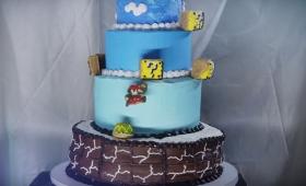 ケーキを回せば、マリオだって再現できる