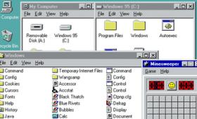 Windows95をウェブブラウザだけで動かせる「Windows 95 in your browser」