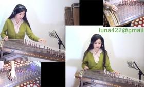 韓国の伝統絃楽器の伽耶琴で「Space Oddity」をカバー