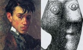 15歳から90歳までの75年間、ピカソの描く自画像を年代順に並べてみた