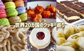 クッキーの為に世界をまわるとかどうだろう?世界24カ国のおいしいクッキー(焼き菓子)巡り