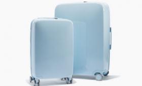 スーツケースの位置をスマホで把握できデバイス充電や重量測定も可能というスタイリッシュな「Raden」