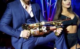 フランス生まれのシャンパンも、アメリカに渡るとこう変わる。シャンパンをブッ放つ、シャンパンガン