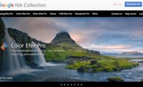 グーグル、150ドルの写真編集ソフト「Nik Collection」を無料に