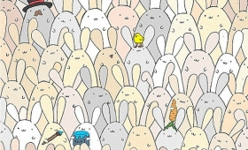 【発狂しそう】ウサギの中から「たまご」を見つけるゲームが超絶難関!
