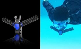 人間が魚気分を味わえる!水中で呼吸ができる人工エラ「トリトン」が爆発的支持を得て販売決定