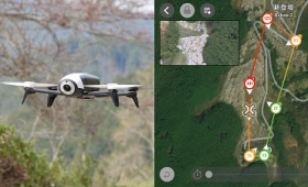 Parrot Bebop 2を任意のルートでオートフライト&空撮できる「Flight Plan」機能で自動撮影してみた