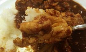 鶏肉がピリ辛カレーに入った「ごろごろチキンカレー」を松屋で食べてきた