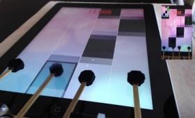 音ゲーを人間に不可能な速度で高速プレイする自作ロボット