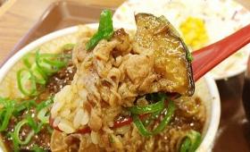 素揚げのナスをピリ辛の麻婆ソースで食べられるすき家「マーボーナス牛丼」を食べてきた