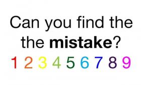 【パズル】素早く「ミス」を探すことができるかどうかチェックするパズルが話題に