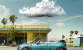 ⾬も降るらしいですよ! MINIが英国の天気を⾞内に再現するテクノロジーを開発