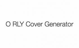 オライリー書籍風の表紙が作れるジェネレータ「O RLY Cover Generator」