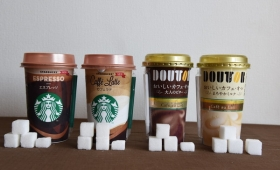 【検証】スタバとドトールのコーヒーに含まれる砂糖の量を比較してみた。