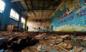 18年前に放棄された旧ソ連軍兵士の町「スクルンダ-1」廃墟(ラトビア)
