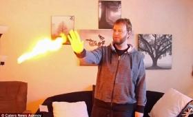【どーなってんだ!】手のひらから「火」を突如出す特殊なミュータント動画が話題に