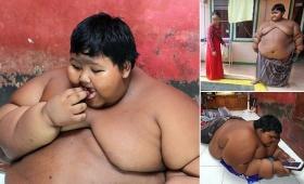 【何があった】10歳で200キロ近い体になった少年が話題に!ダイエット始める