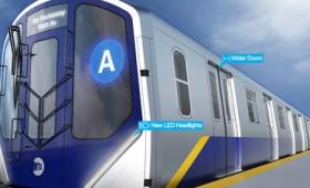 充電用USBポートやWi-Fiを車内に搭載し、スマホを快適に使える車両をニューヨーク地下鉄が発表