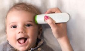 おでこをスキャンするだけで素早く正確に体温を計測できるスマート体温計「Thermo」