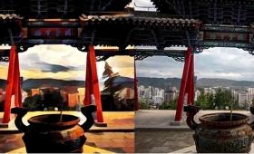 美しい景色がさらにアート風に。中国の街並みをPrismaでアレンジした動画
