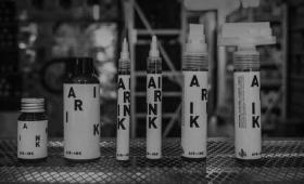大気汚染がアートに。自動車の排気ガスをリサイクルして作られたインク