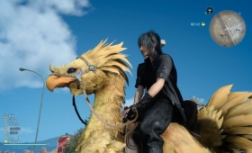 Chocobo racing seems great!