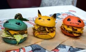Those are some tasty-lookin' Pokémon burgers.
