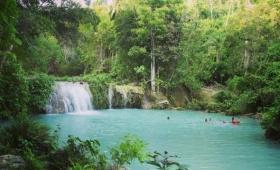 Cambugahay Falls.