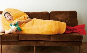 Look Like a Fried Shrimp With This Japanese Sleeping Bag