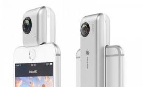 ギズモード限定で10%OFF! iPhone 7で360度撮影できる「Insta360 Nano」が斬新すぎます